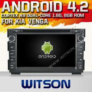 Witson Android 4.2 System Car DVD per KIA Venga (W2-A7518)