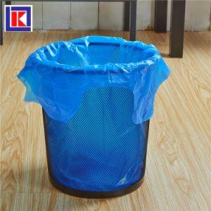 제조자 LDPE/HDPE 롤에 주문 크기 동점 손잡이 쓰레기 봉지