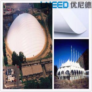 Lonas el estadio de la Membrana impermeable blanca durabilidad Estructura de acero del techo de Toldo