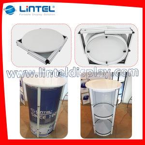 En el mercado de EE.UU Venta caliente Torre espiral de aluminio plegable Tabla de promoción de la pantalla (LT-07A)