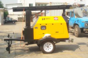 18 Kw/kVA Perkins 디젤 엔진 발전기 이동할 수 있는 등대/탑 빛 (NPLT18.5-P)
