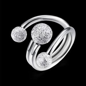 925 Joyería de Plata Anillo de dedo Ringent joyas de moda para mujer