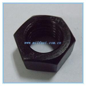 DIN 934 Gr6 avec les écrous hexagonaux Zinc-Plating