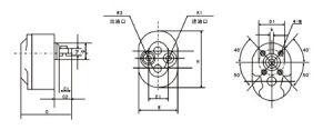 기름을 바르는 시스템을%s CB-B80 시리즈 저압 기어 펌프