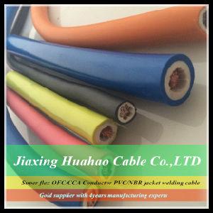 16mm2 25mm2 35mm2 50mm2 70mm2 95mm2 Cobre / CCA condutor PVC / NBR Sheathed Welding Cable