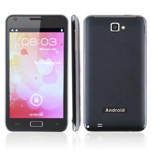 N8000 5.0 polegadas tela capacidade Smart Phone Android Market 4.0 SO MTK6575 cortex A9 1,0Ghz 3G WiFi GPS TV
