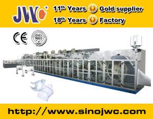 Línea de producción de pañales desechables Máquina (JWC-NK300)
