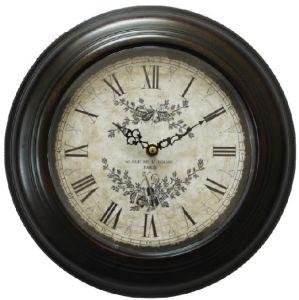 32cm Reloj de pared Caja de hierro