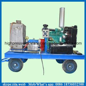 rondella ad alta pressione diesel della macchina di superficie industriale di pulizia 14000psi