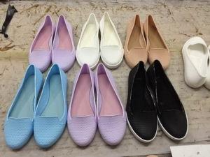 Fashion Lady femmes PVC quatre saisons de la gelée de chaussures de plage