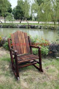 Home Tabla de metal y una silla de madera para muebles de madera (Hz-MZ065)