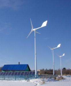 Sistema híbrido Solar do vento para uso residencial e comercial