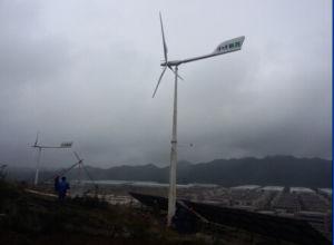 10kw Baixo ruído de alta eficiência Inclinação: Controlada gerador de Turbinas Eólicas