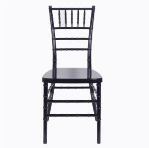 수지 Chiavari 그려진 강화된 까만 의자