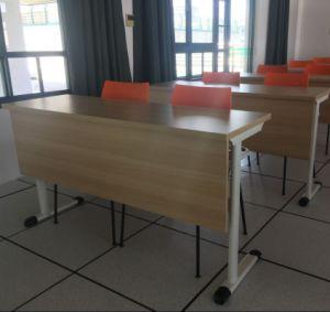 Двойные сиденья школы учащийся письменный стол и стул
