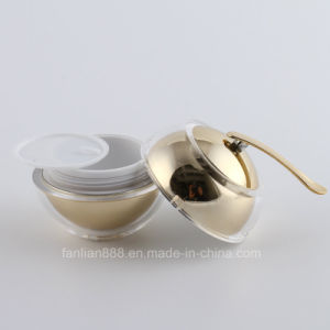 装飾的な包装のためのアクリルのAppleの形のクリームの瓶