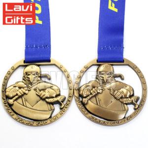 precio de fábrica de alta calidad para el deporte de la medalla de la plaza personalizado