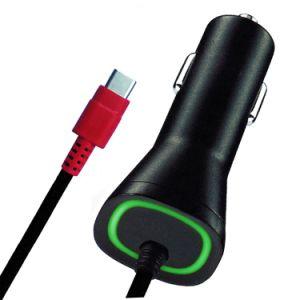 Красный светодиодный индикатор портативный Verizon QC2.0 Тип C автомобильного зарядного устройства