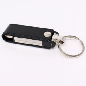 Couro Chaveiro USB Flash Drive USB de memória flash