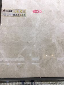 застекленная Inkjet плитка пола фарфора 3D керамическая для домашнего украшения (600X600mm)