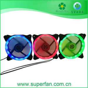 UL 120mm 12V 24V LED DCのファン赤い青緑のファン