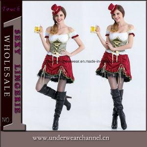 L'halloween adulte de la bière Sexy Femme de ménage Fancy parti bavarois Costumes (8926)