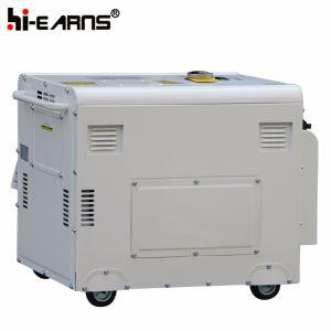 공냉식 침묵하는 유형 단 하나 실린더 디젤 엔진 발전기 세트 (DG5500SE3)
