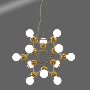 Post-Modern Goldleuchter-hängende Beleuchtung für Haus oder Gaststätte