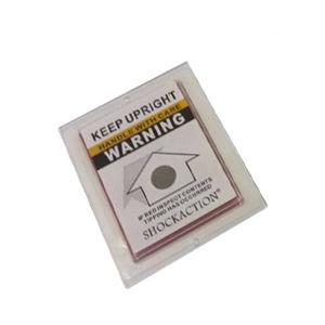 高品質の壊れやすい警告ラベルのTiltactionの表示器