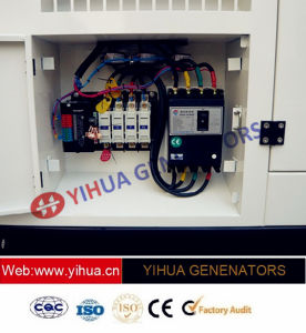 generatore diesel silenzioso di energia elettrica di 30kVA Cummins con l'alternatore di Stamford [IC180308A]