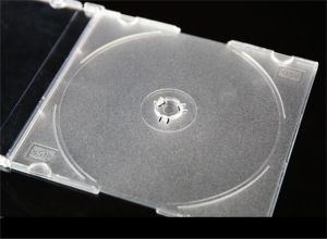 宝石のカラー皿が付いているCD箱の宝石CDボックス宝石のCDカバー5.2mm