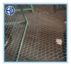 Rete metallica esagonale di torsione normale