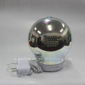 La decoración del hogar eléctrico portátil Aceite Esencial de ultrasonidos en 3D Star difusor de aroma de vidrio con niebla fría