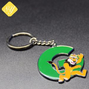 공장 가격 승진 주문 금속 열쇠 고리 병따개