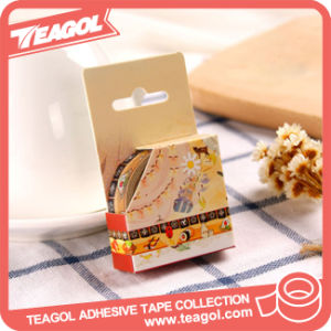 중국 공급자 훈장 다채로운 방수 접착성 문구용품 Washi 테이프