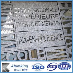 Mur extérieur matériau aluminium panneaux de mousse