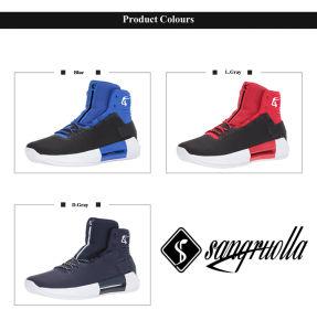 Nuevo profesional barato Cool botas zapatillas de baloncesto