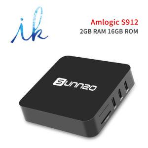 Vakje van TV van Sunnzo G8 het Mini Androïde Slimme met van Amlogic S912 2GB De Steun 4K 1080P, 2.4GHz WiFi van ram/16gb- ROM