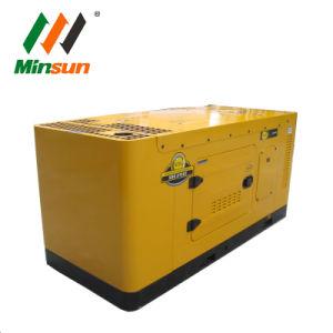 Звуконепроницаемые водяного охлаждения Silent Электрический пуск портативный генератор дизельного двигателя на заводе