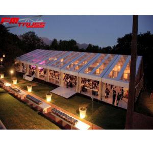 屋外党結婚式のための防水明確な屋根のイベントのテント