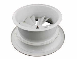Sistema de Ventilação do HVAC no teto de alumínio ajustável difusores de ar da borboleta de turbulência