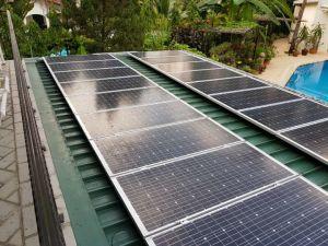 Modelo de Sistema Solar para Casa 5kw, el generador solar de 5kw