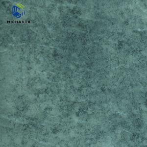 El grano de mármol pisos parqué de película de PVC decorativos