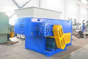 Пластиковый перерабатывающая установка одного вала Бумагорезательная машина 400мм-1600мм HDPE трубы для шинковки