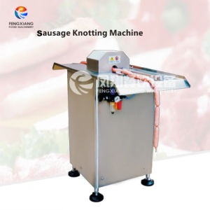 Dispositif de liage pneumatique semi-automatique l'insu de la machine pour la saucisse