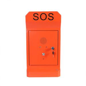 Telefono della strada principale SOS, telefono impermeabile Handsfree di GSM e robusto Auto-Dial