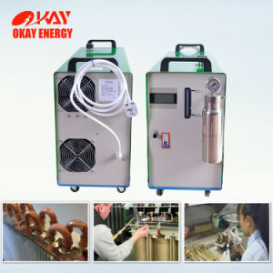 Equipos de intercambio de calor y refrigeración de HHO hidrógeno soldadura del intercambiador de calor