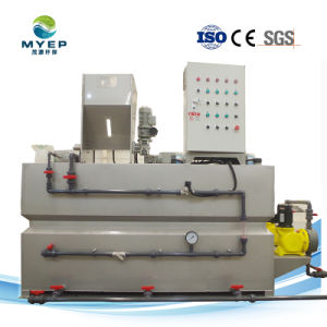 PAM&PAC Automatisch Polyelectrolyte van het Poeder van het Chloride van het Aluminium van het polymeer Voorbereiding/het Doseren Systeem