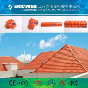 Vitrage en plastique PVC Feuille de tuiles de toiture Équipement de fabrication de machine de l'extrudeuse