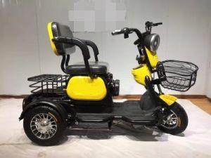Bicicleta triciclo eléctrico 500W de potencia con tres ruedas Scooter eléctrico